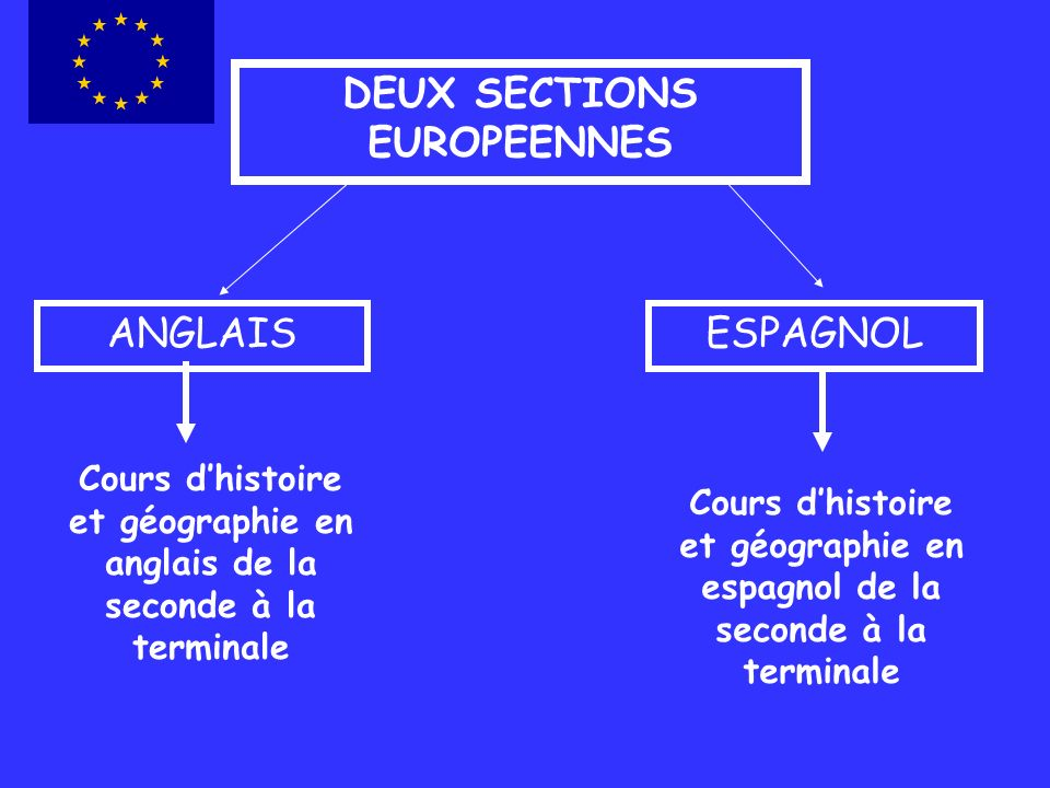 DEUX SECTIONS EUROPEENNES