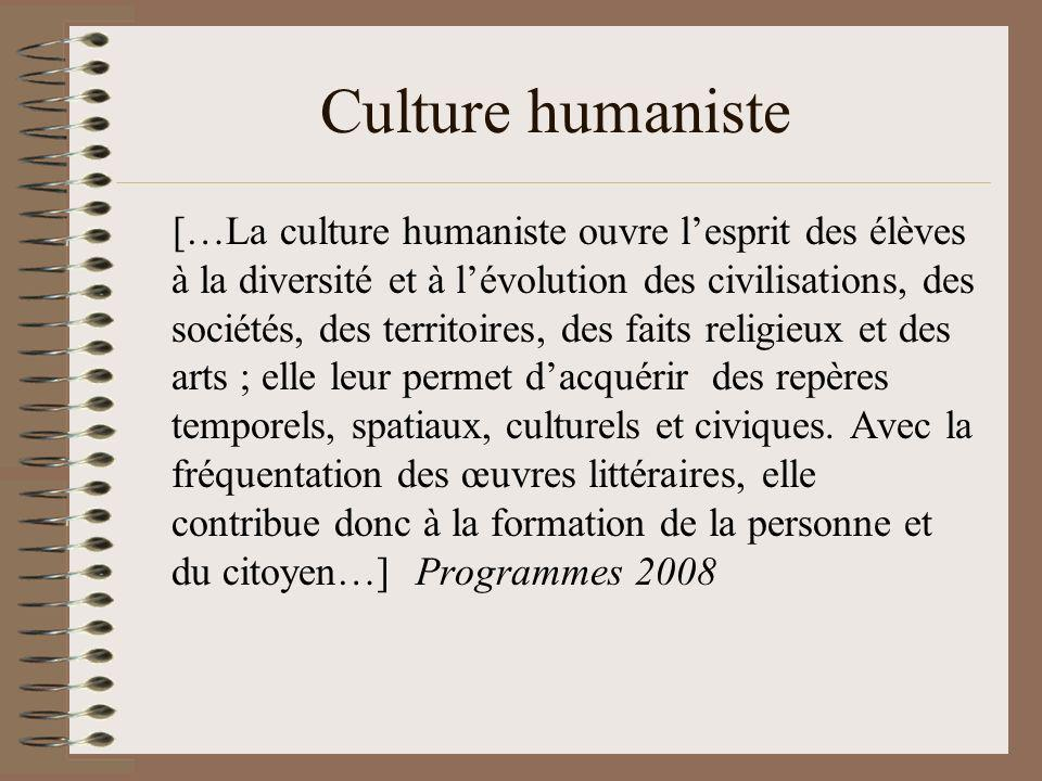 Culture humaniste