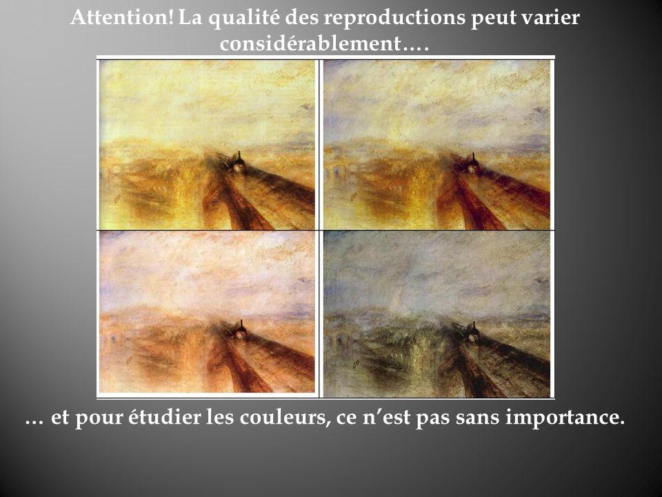 Attention! La qualité des reproductions peut varier considérablement….