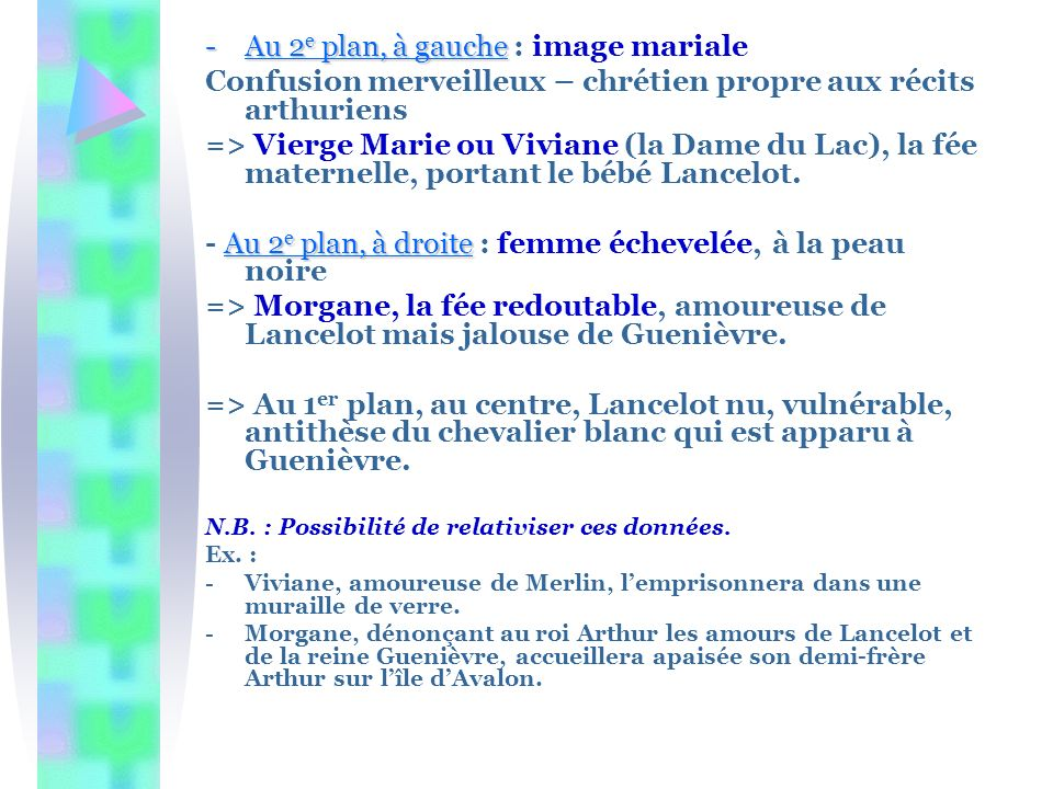 Au 2e plan, à gauche : image mariale
