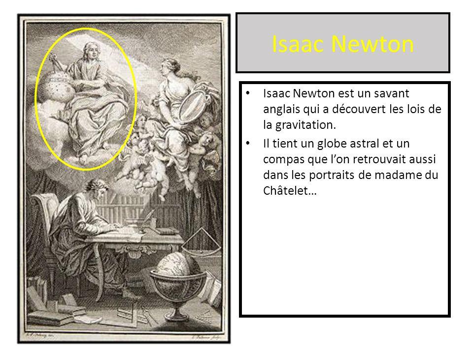 Isaac Newton Isaac Newton est un savant anglais qui a découvert les lois de la gravitation.