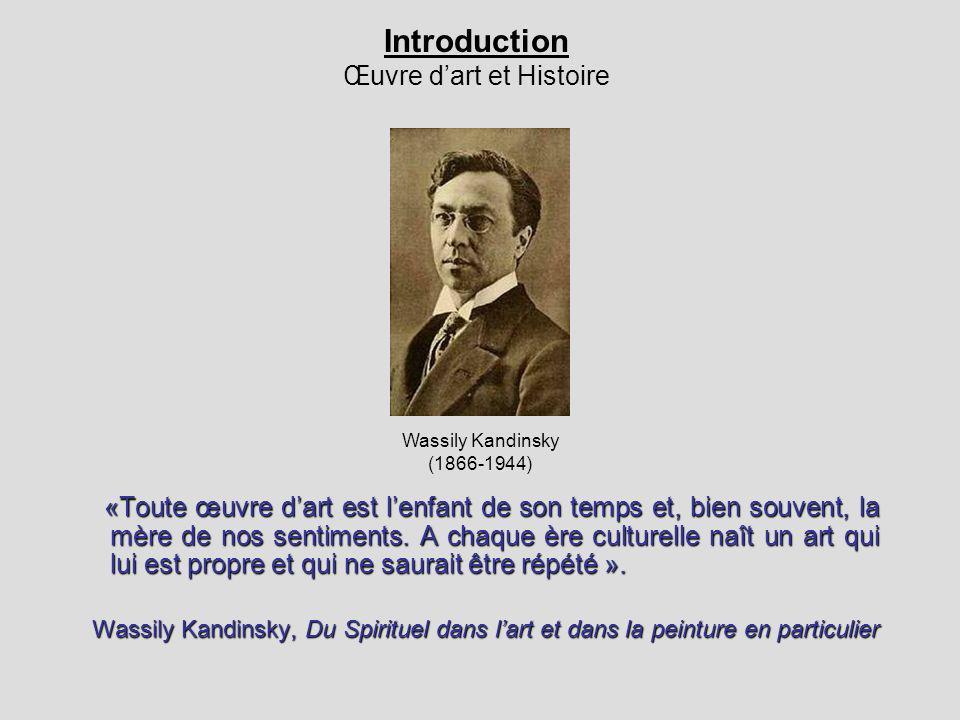 Introduction Œuvre d'art et Histoire