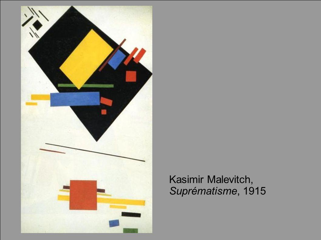 Kasimir Malevitch, Suprématisme, 1915