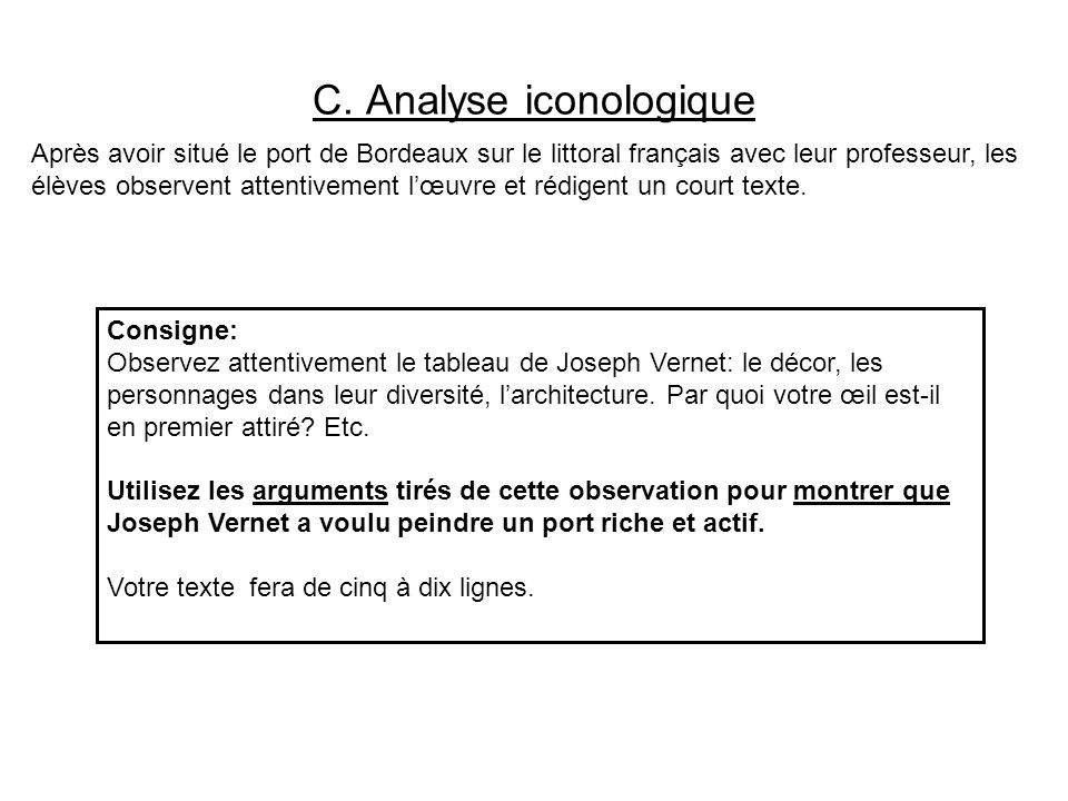 C. Analyse iconologique