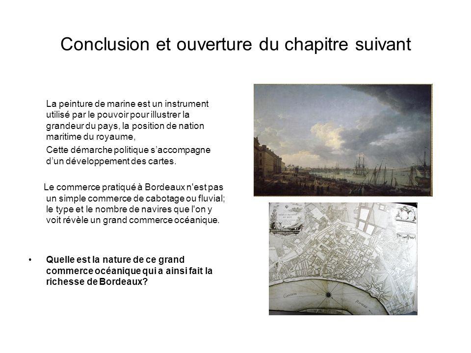 Conclusion et ouverture du chapitre suivant