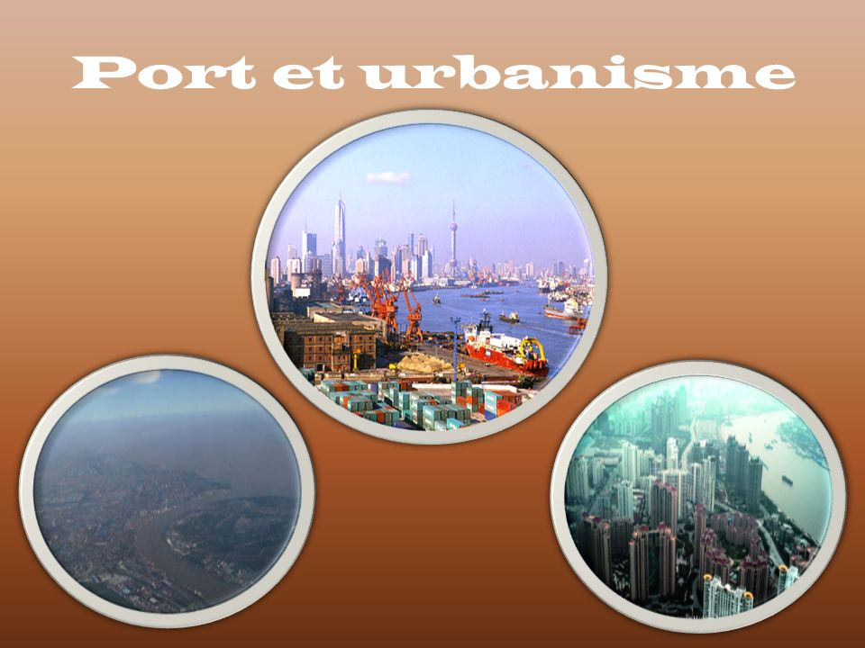 Port et urbanisme