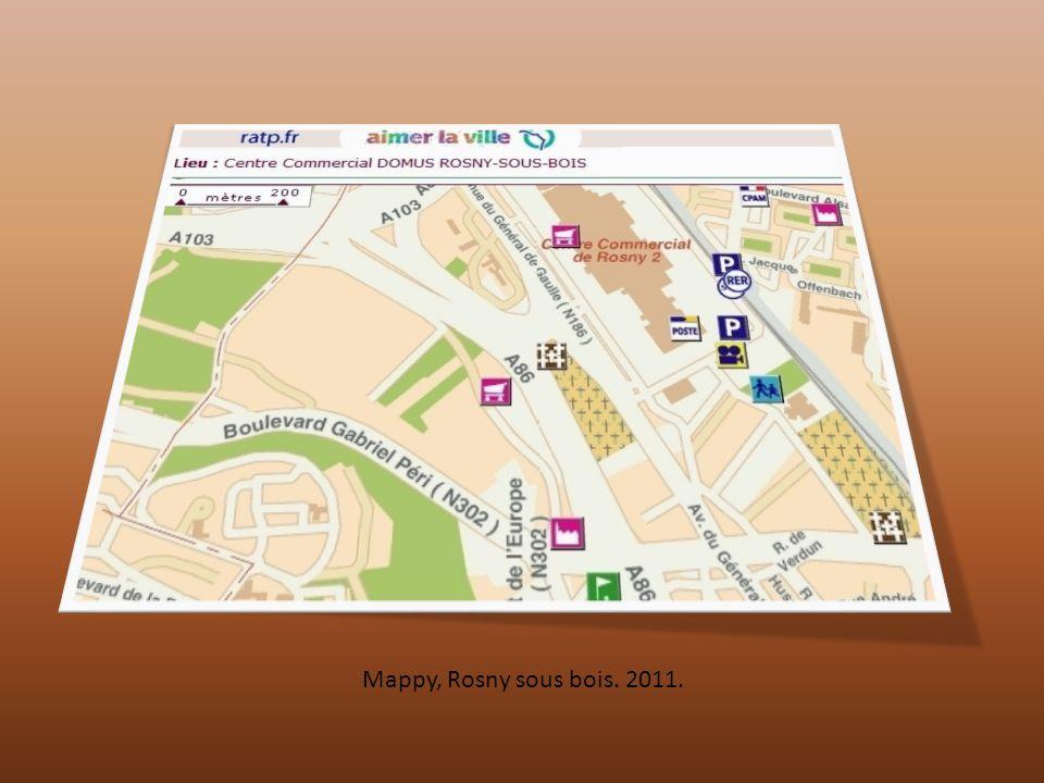 Mappy, Rosny sous bois. 2011.