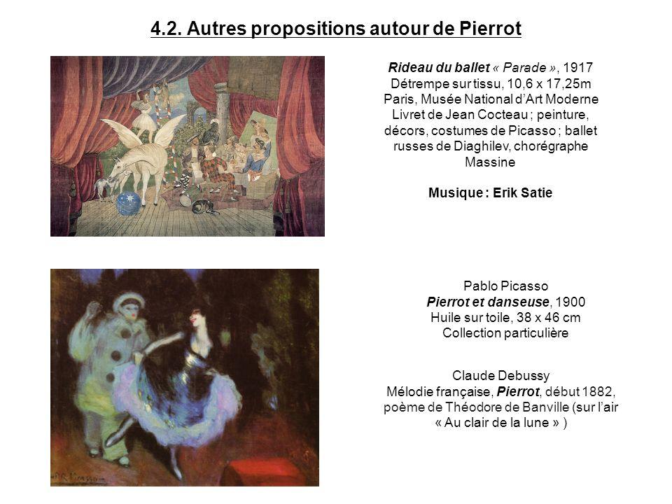 4.2. Autres propositions autour de Pierrot