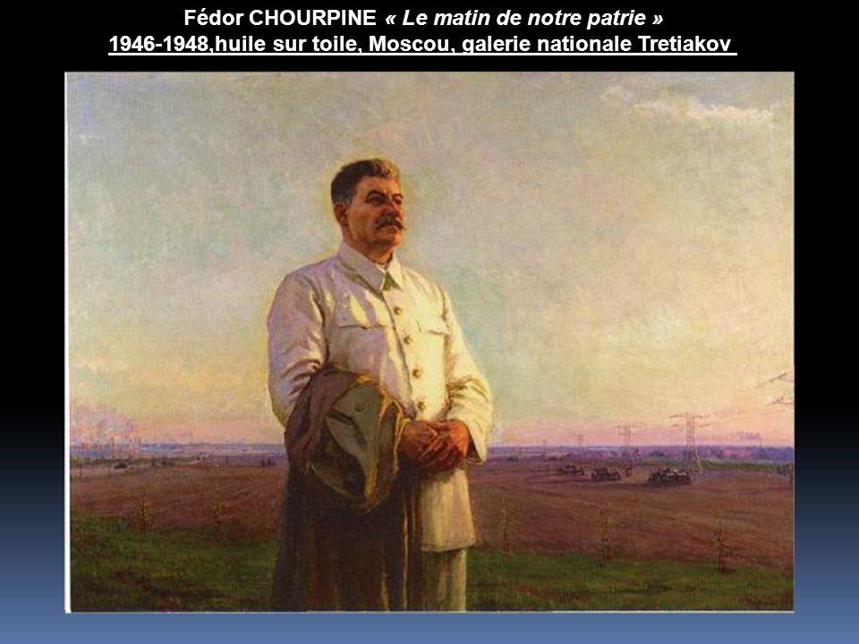 Fédor CHOURPINE « Le matin de notre patrie »