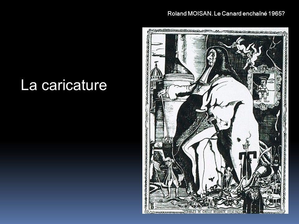 La caricature Roland MOISAN. Le Canard enchaîné 1965