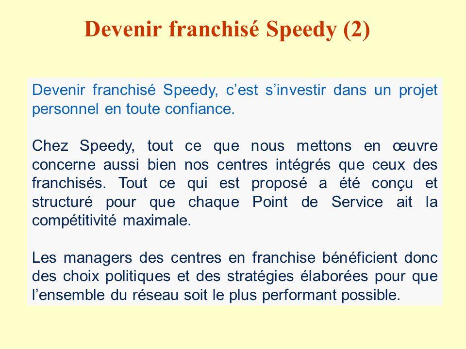 Devenir franchisé Speedy (2)