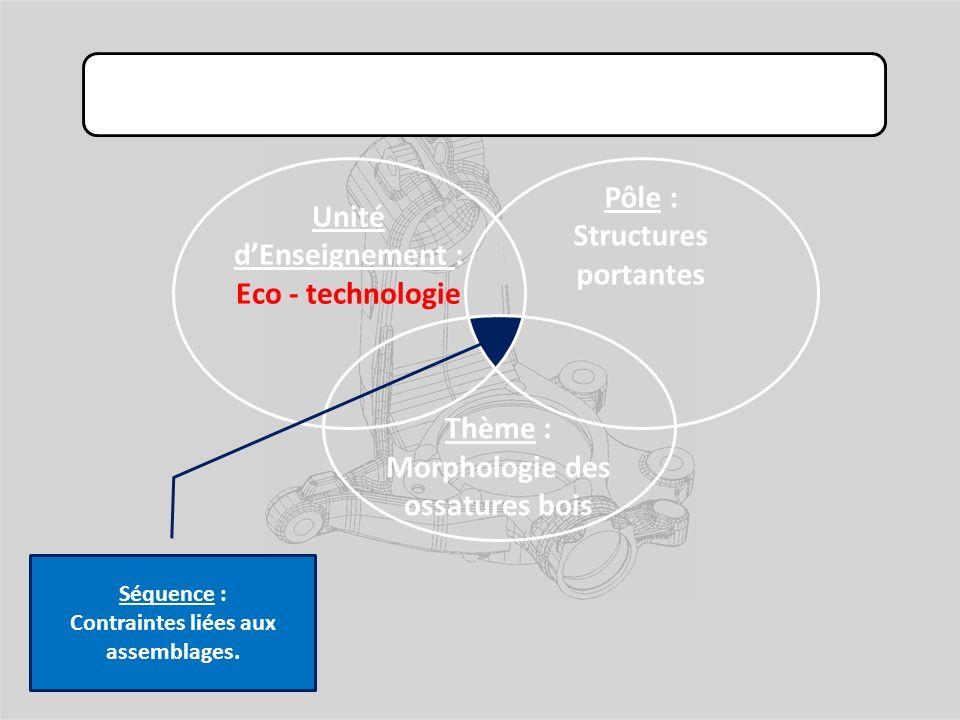 Unité d'Enseignement : Eco - technologie Pôle : Structures portantes
