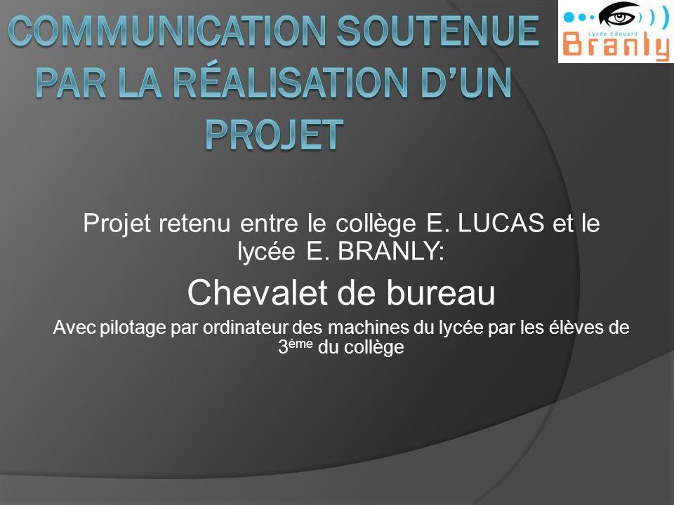 Communication soutenue par la Réalisation d'un projet