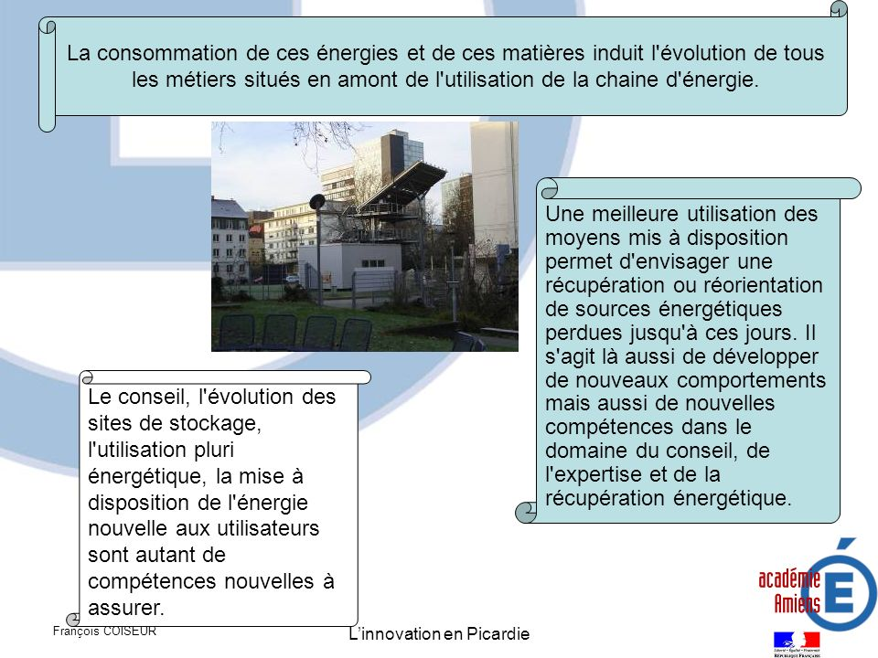 L'innovation en Picardie