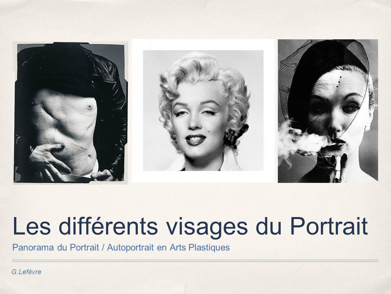 Les différents visages du Portrait