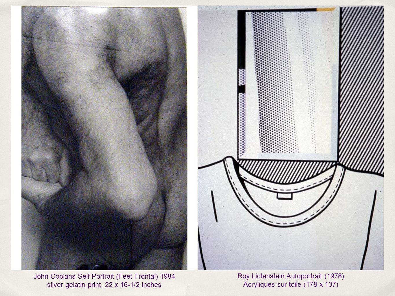 Roy Lictenstein Autoportrait (1978) Acryliques sur toile (178 x 137)