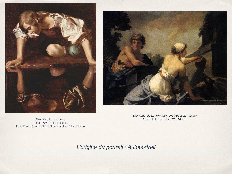 L'origine du portrait / Autoportrait