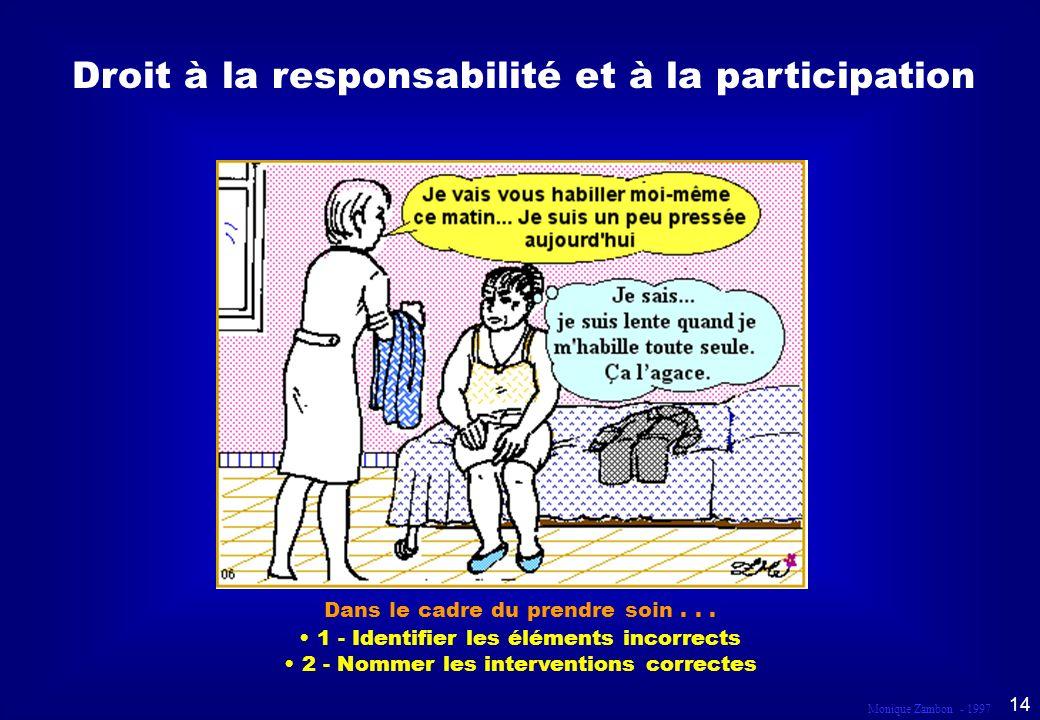 Droit à la responsabilité et à la participation