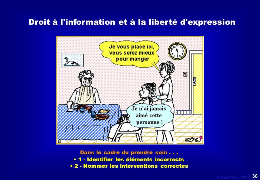 Droit à l information et à la liberté d expression