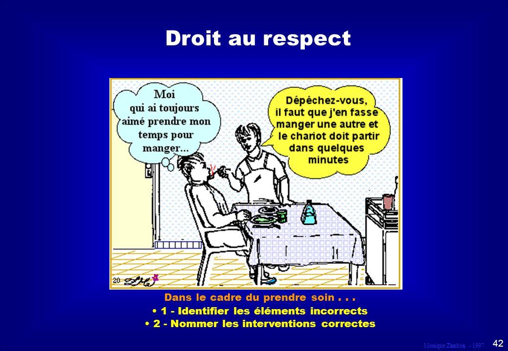 Droit au respect Scène 20 Droit au respect et à la dignité