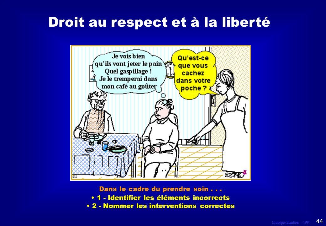 Droit au respect et à la liberté