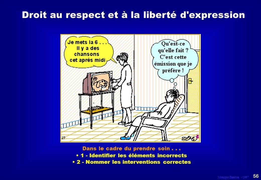 Droit au respect et à la liberté d expression