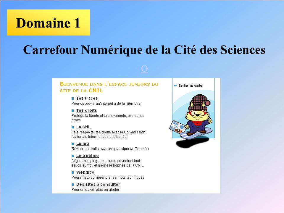 Carrefour Numérique de la Cité des Sciences