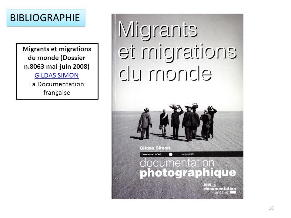 Migrants et migrations du monde (Dossier n.8063 mai-juin 2008)