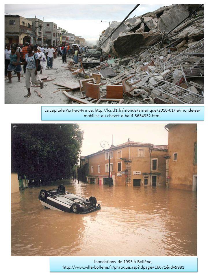 Inondations de 1993 à Bollène,