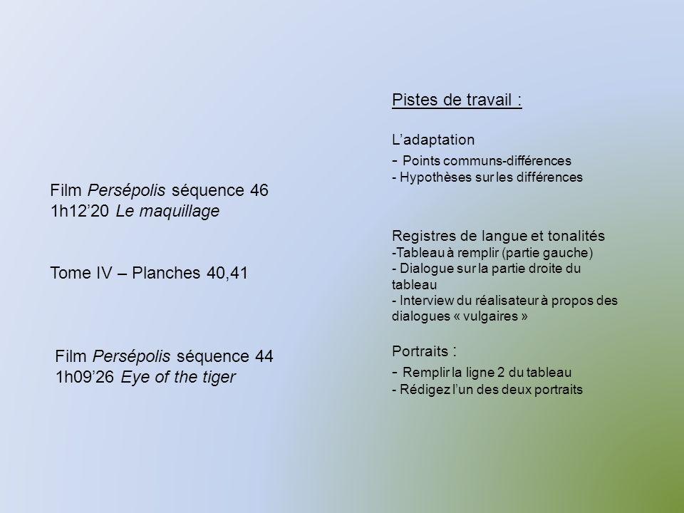 Points communs-différences