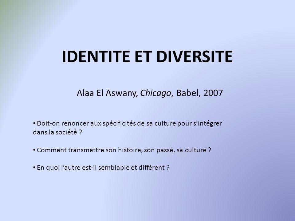 Alaa El Aswany, Chicago, Babel, 2007