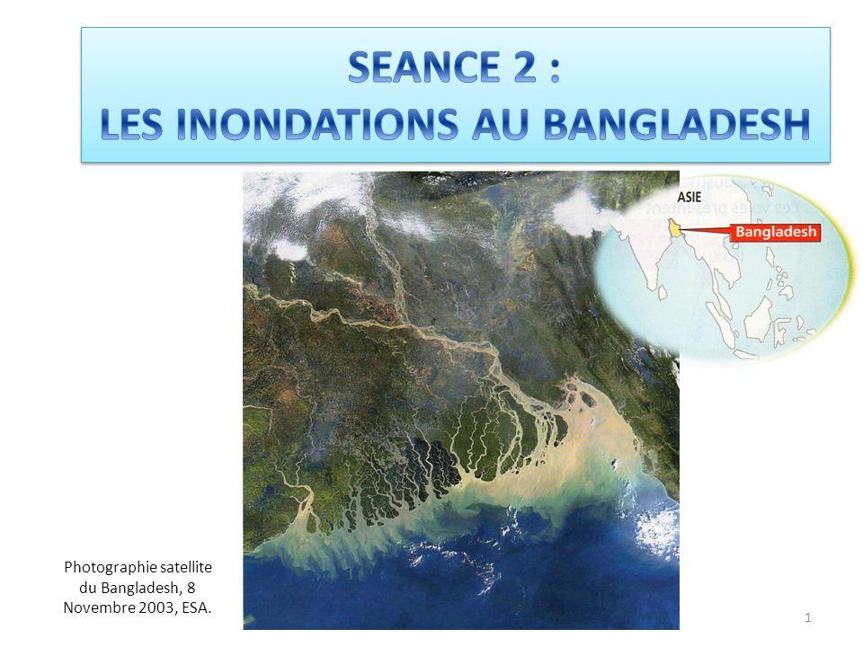 SEANCE 2 : LES INONDATIONS AU BANGLADESH