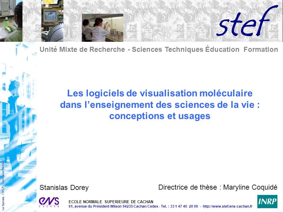 Les logiciels de visualisation moléculaire