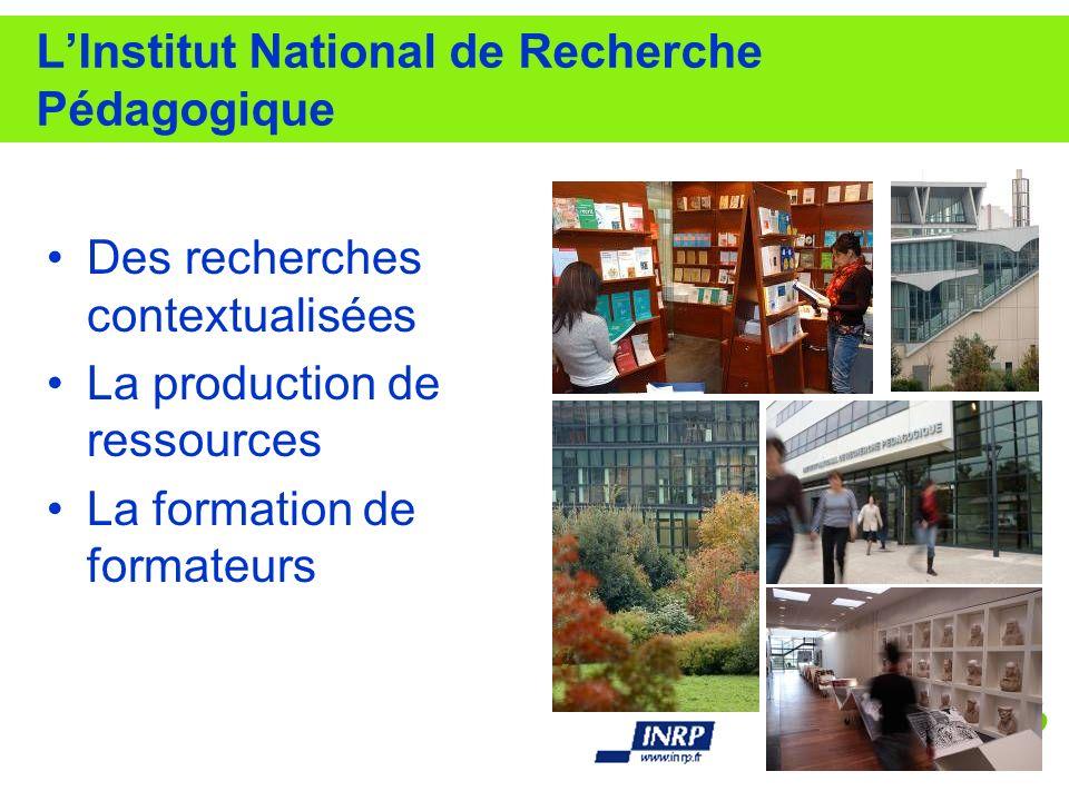 L'Institut National de Recherche Pédagogique