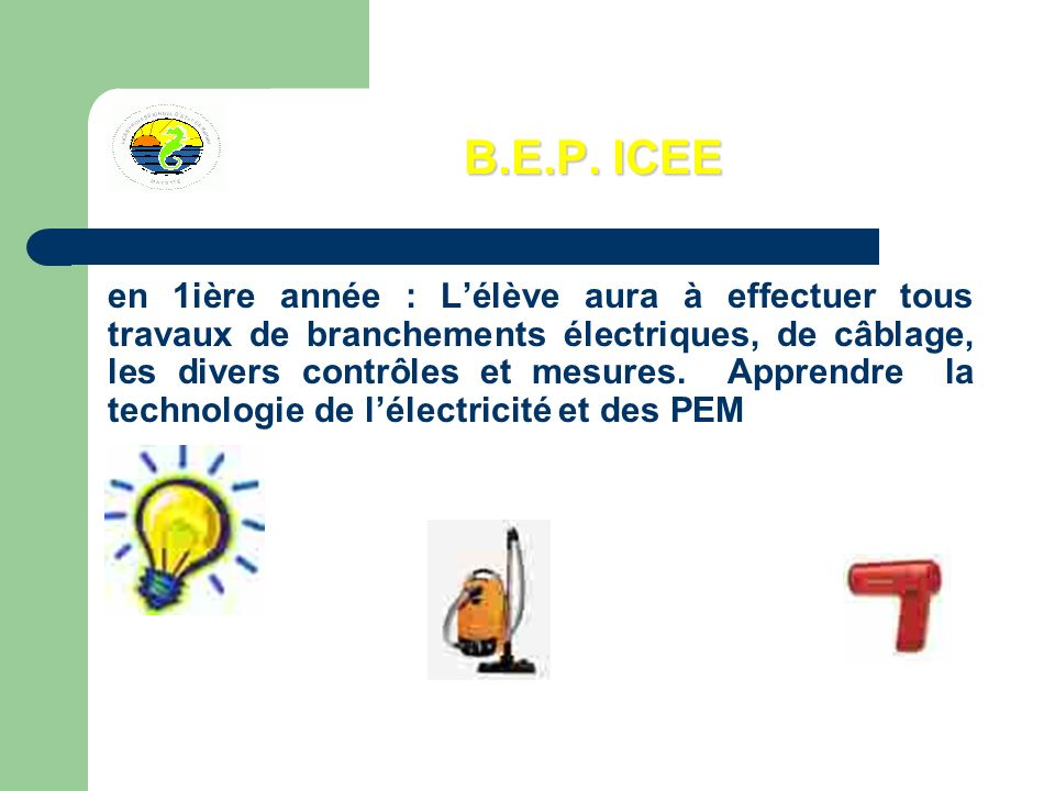 B.E.P. ICEE