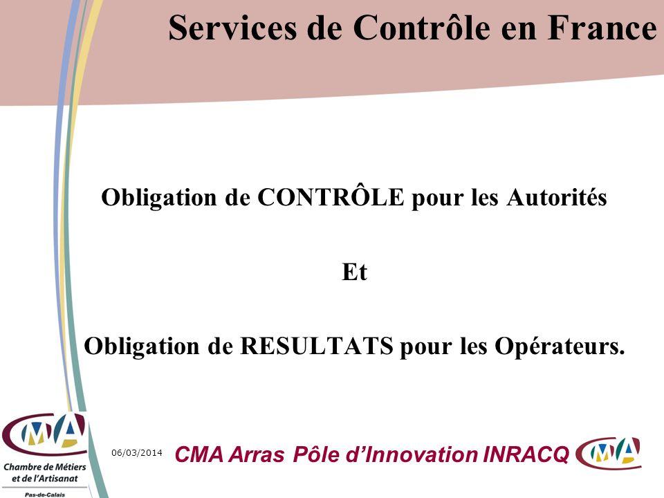 Services de Contrôle en France
