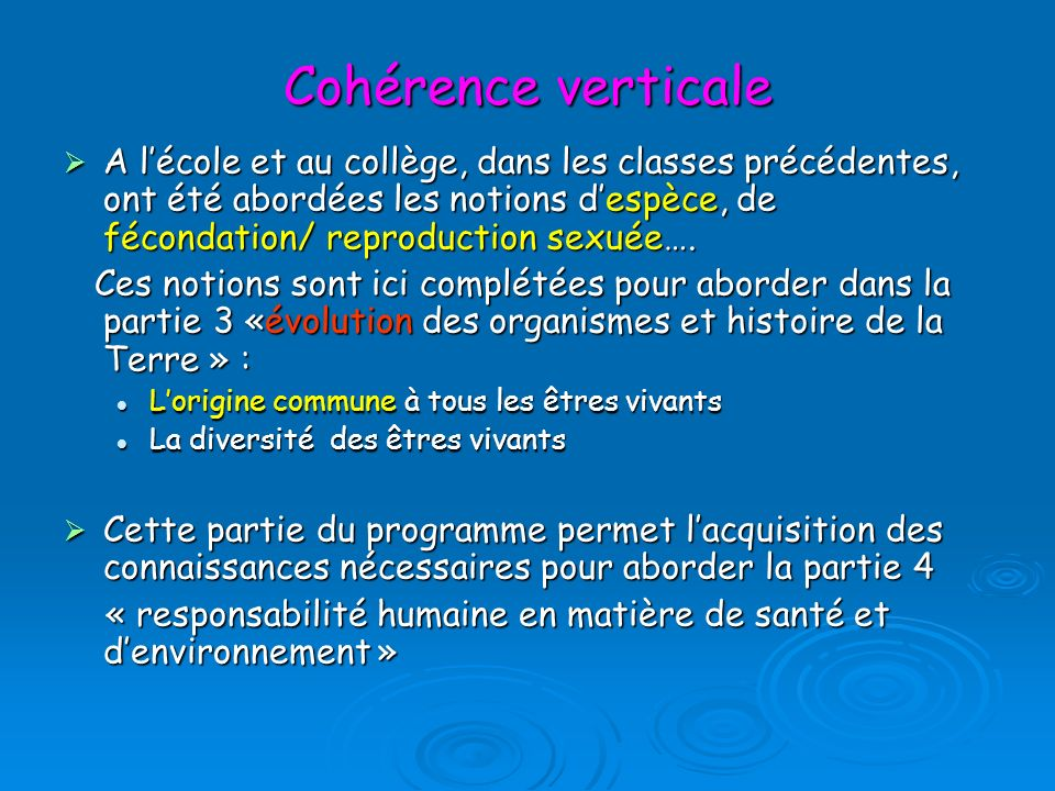 Cohérence verticale