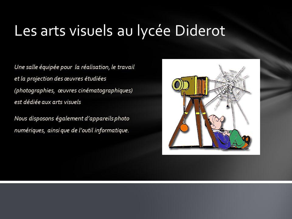 Les arts visuels au lycée Diderot