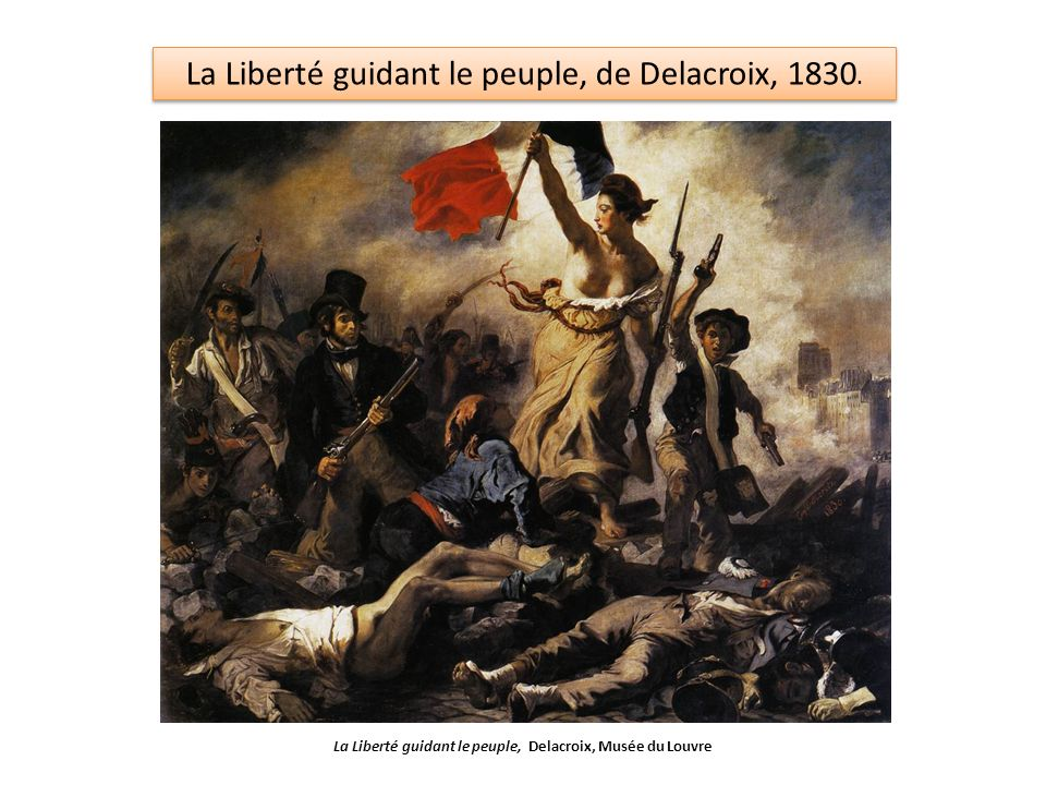 La Liberté guidant le peuple, Delacroix, Musée du Louvre