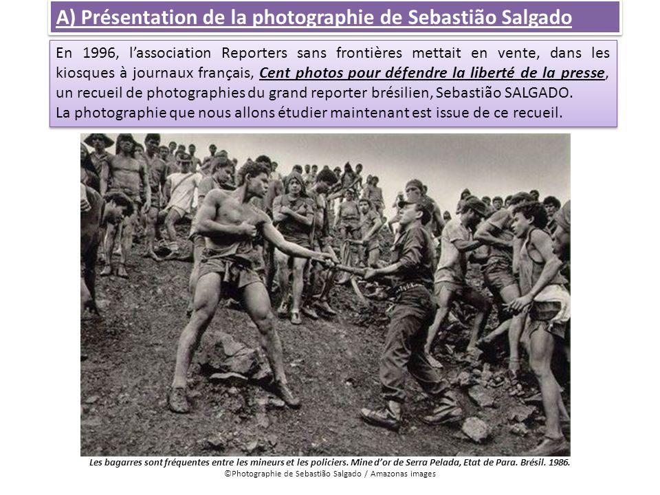 ©Photographie de Sebastião Salgado / Amazonas images