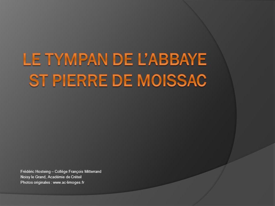 Le tympan de l'abbaye St Pierre de Moissac
