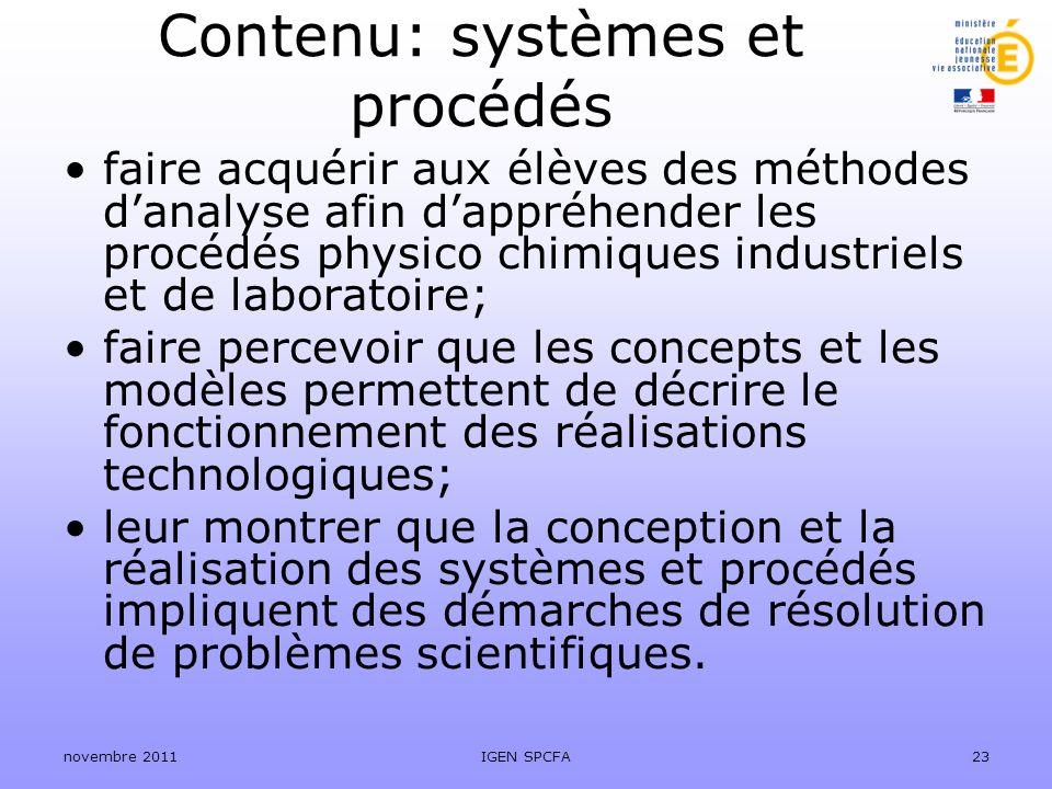 Contenu: systèmes et procédés