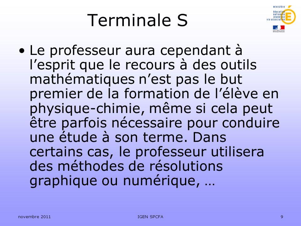 Terminale S