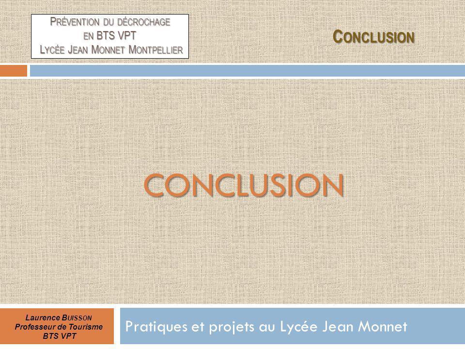 Pratiques et projets au Lycée Jean Monnet
