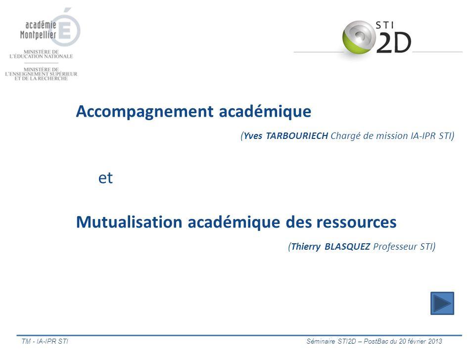 Accompagnement académique