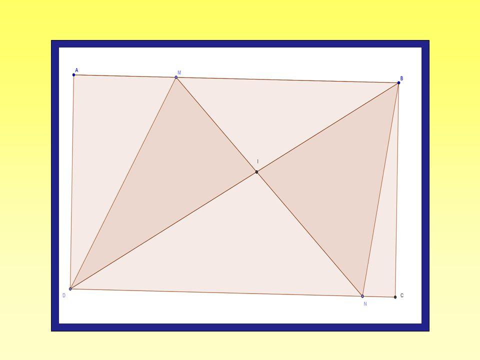 Il s'agit de démontrer que les triangles MID et NIB ont la même aire.