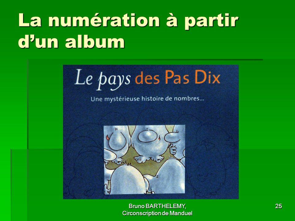 La numération à partir d'un album