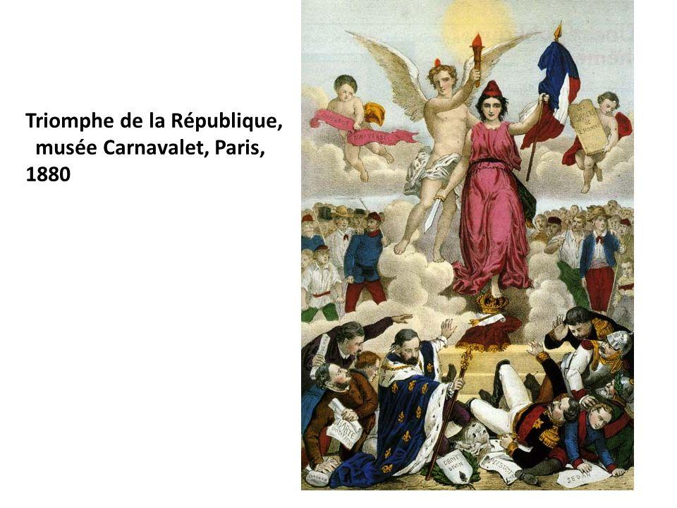 Triomphe de la République,