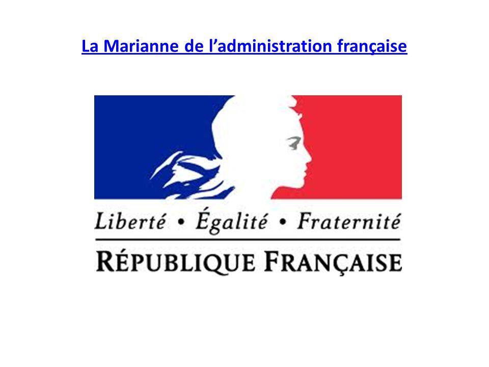 La Marianne de l'administration française