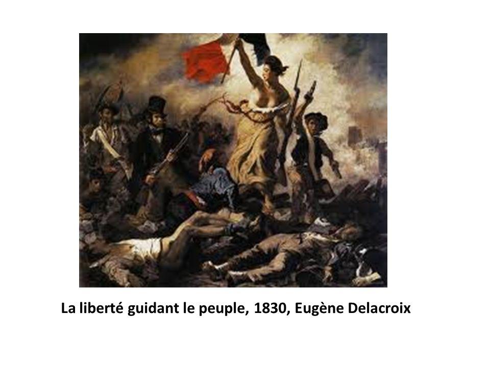 La liberté guidant le peuple, 1830, Eugène Delacroix